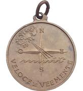 """Medal - Nave """"Maestrale"""" – revers"""