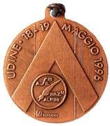 Medal - 69° Adunata Nazionale Alpini – revers