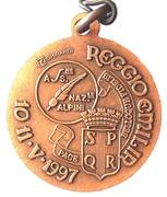 Medal - 70° Adunata Nazionale Alpini – revers