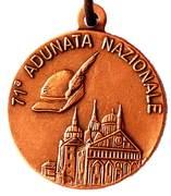 Medal - 71° Adunata Nazionale Alpini – avers