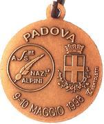 Medal - 71° Adunata Nazionale Alpini – revers