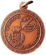 Medal - 72° Adunata Nazionale Alpini – revers