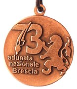 Medal - 73° Adunata Nazionale Alpini – avers