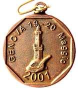 Medal - 74° Adunata Nazionale Alpini – avers