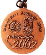 Medal - 75° Adunata Nazionale Alpini – revers