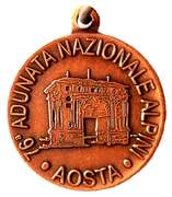 Medal - 76° Adunata Nazionale Alpini – avers