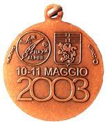 Medal - 76° Adunata Nazionale Alpini – revers