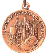 Medal - 78° Adunata Nazionale Alpini – avers