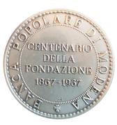 Médaille - Banca Popolare Di Modena (centenaire) – revers