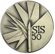 Médaille - Cinquantenaire de la Société italienne de statistiques – avers