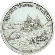 Médaille - 100e anniversaire de la mort de Ferdinand de Lesseps – revers