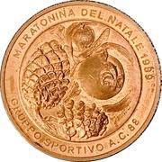 Médaille - Maratonina del Natale 1989 (Gruppo Sportivo A.C. 88) – avers