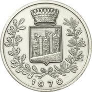 Médaille - Méthanier Esso Portovenere – revers