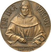 Médaille - Collegio dei Ragionieri di Milano e Lodi – avers