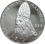Clement VII – revers
