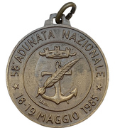 Medal - 58th national assembly of the Alpini – avers