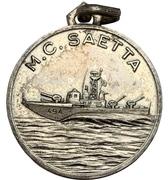 Medal - Motocannoniera Saetta – avers