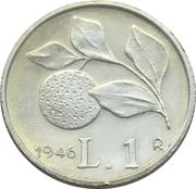 Replica - 1 Lira 1946  – revers