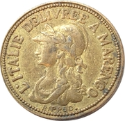 20 Francs marengo reproduction – avers