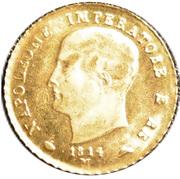 40 Lire - Napoleon I (Mini replica) – avers
