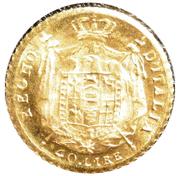 40 Lire - Napoleon I (Mini replica) – revers