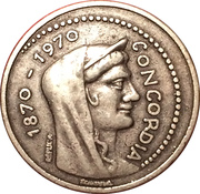 1000 lire (reproduction) – avers