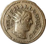Jeton - Mister Day Parmalat (Antoninianus - Philippus I; SAECVLARES AVGG; Ludi Saeculares - Lion) – avers