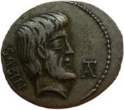 Jeton - Mister Day Parmalat (Denarius - Lucius Titurius Sabinus) – avers