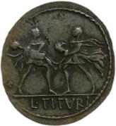 Jeton - Mister Day Parmalat (Denarius - Lucius Titurius Sabinus) – revers