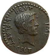 Jeton - Mister Day Parmalat (Denarius - Brutus) – avers