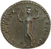 Jeton - Mister Day Parmalat (Denarius - Domitianus) – revers