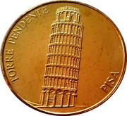 Token  Torre pendente Pisa – avers