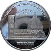 Moneta commemorativa Cattedrale Santa Maria del Fiore FIRENZE – avers