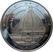 Moneta commemorativa Cattedrale Santa Maria del Fiore FIRENZE – revers