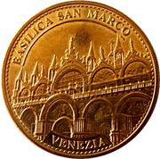 Jeton touristique - Medaglie e Patrimonio- Basilica San Marco – avers
