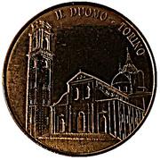 Jeton touristique - Il Duomo - Torino - Couleur cuivre – revers