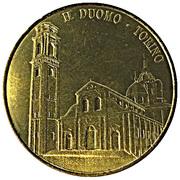 Jeton touristique - Il Duomo - Torino - Couleur or – revers