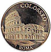 National Tokens Italian Heritage - Roma (Colosseo) – avers