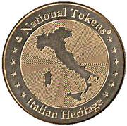 National Tokens Italian Heritage - Roma (Colosseo) – revers