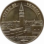Jeton touristique - Médailles et Patrimoine - Cité de Venise – avers