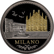 Médaille - Milano - Italia – avers