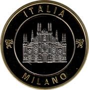 Médaille - Milano Italia  -Duomo – avers
