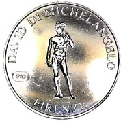 Jeton - Italia e le sue Perle (Firenze  - David Di Michelangelo) – avers
