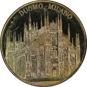 Jeton touristique - Duomo Milano – avers