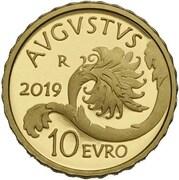 10 Euro (Augustus) – revers