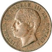 1 centesimo Victor-Emmanuel III – avers