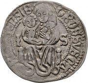 1 groschen Matthias Corvinus (1458-1490) – revers