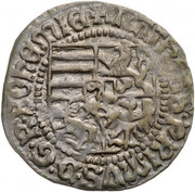 ½ Garas - Mátyás Hunyadi (1458-1490) – avers