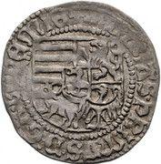 1 groschen Matthias Corvinus (1458-1490) – avers