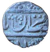 1/4 Rupee - Muhammad Shah – avers